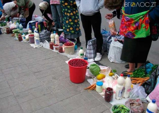 У Новограді створять групу по боротьбі зі стихійною торгівлею