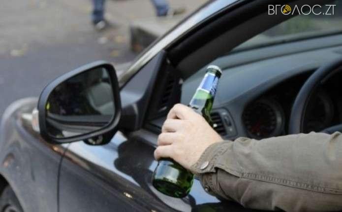З початку року поліцейські Житомирщини затримали 65 нетверезих водіїв