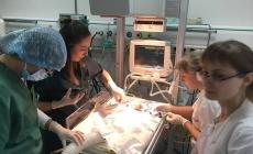 Хлопчику, який народився з вагою 1400 грамів, зробили складну операцію на серці