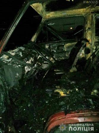 У Житомирі на території автомийки горіли автомобілі