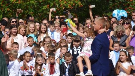 Як у житомирській школі №28 відзначили День знань (ФОТО)
