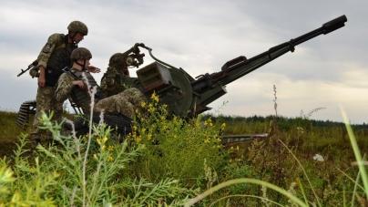 На Житомирщині зенітники стріляли по вертольоту та бетееру
