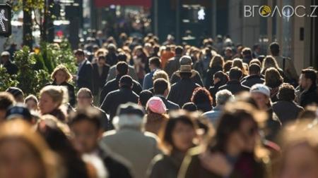 Лише у двох районах області зросла чисельність населення