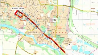 У Житомирі почав курсувати новий автобус (схема руху)