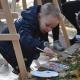 Майже 20 дітей малювали осінні пейзажі в центрі Житомира (ФОТО)