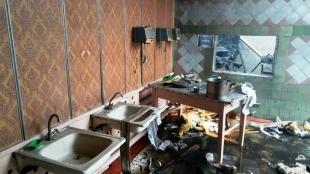 У Романівському районі горіла шкільна їдальня