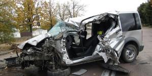 У Коростені зіштовхнулись автофургон та вантажівка. Є постраждалі