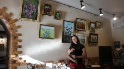 Душа і серце Житомира: Тетяна Лаврінець презентувала художню виставку