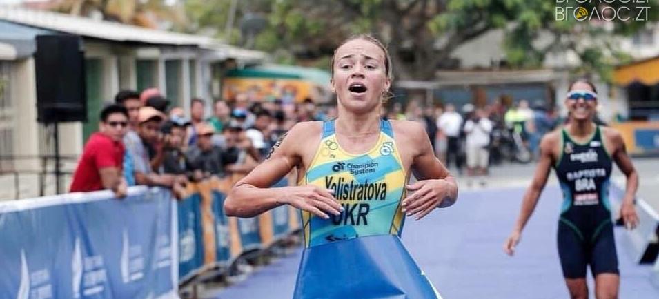 Житомирянка Єлістратова виграла етап Кубка світу з триатлону в Еквадорі
