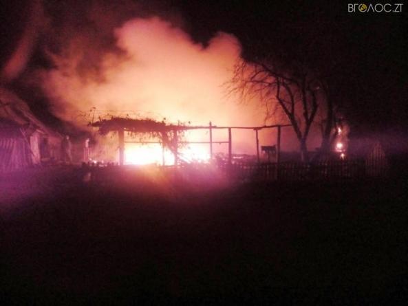 В Олевському районі під час пожежі загинули батько та син