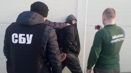 У Житомирі СБУ затримала військового, який торгував вибухівкою з ООС