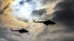 БТРи, танки, військові гелікоптери: як на Житомирщині проходять навчання десантників (ФОТО)