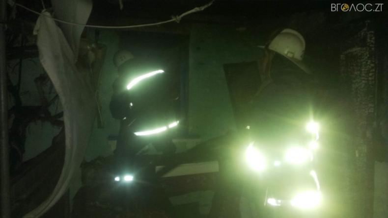 Ружинський район: під час пожежі у житловому будинку загинула жінка