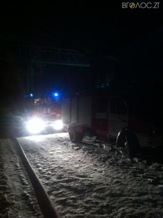 Під час пожежі у Житомирі згоріло 150 кубометрів дерев'яних паличок для кави