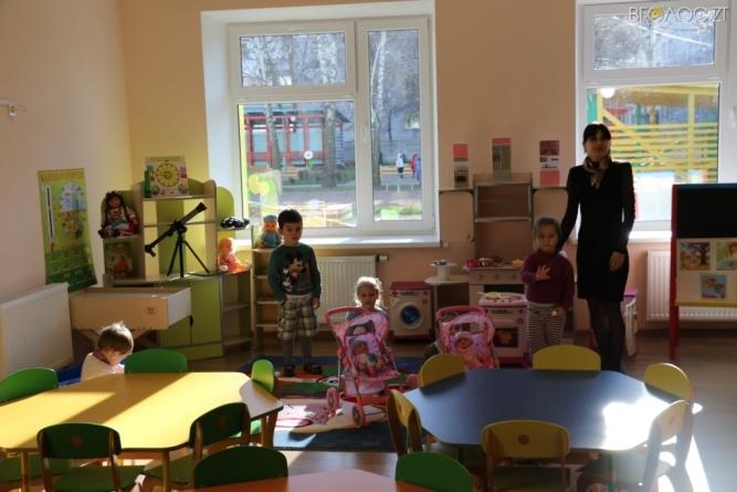 Торік в області створили майже 800 нових місць у дитячих садочках
