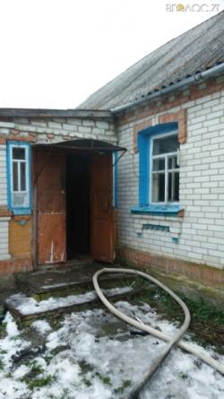 Бердичівський район: під час пожежі у приватній оселі загинув чоловік
