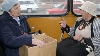 Житомиряни знову скаржаться, що пенсіонери заважають дістатись до роботи