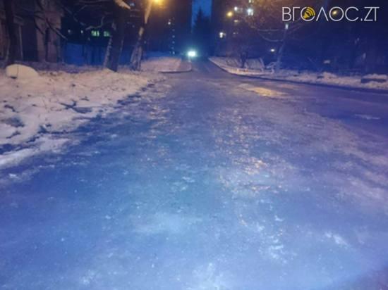 Петиція про те, що Житомир не чистять від льоду, зібрала за 5 днів необхідну кількість підписів