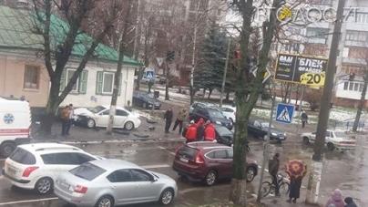 На перехресті Покровської та Лесі Українки сталося ДТП