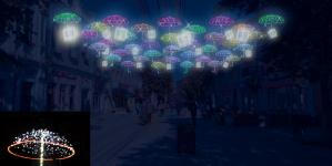 Житомир купив 32 новорічні парасольки по 6000 грн за одиницю