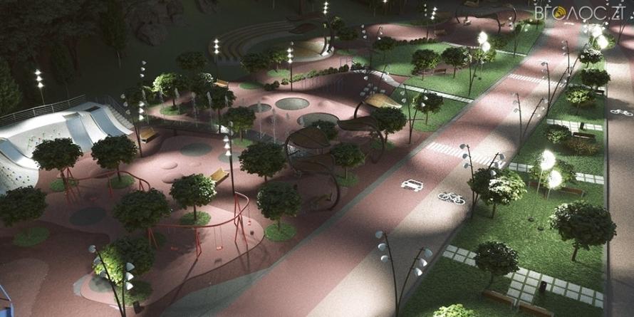 Головний архітектор Житомира показав, як виглядатиме Набережна у парку ім. Гагаріна (ФОТО)