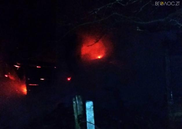 Черняхівський район: під час пожежі у житловому будинку загинули двоє людей