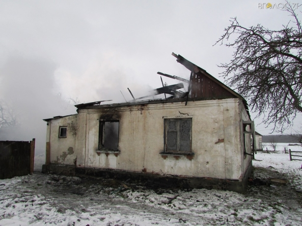 Двоє жителів Хорошівського району загинули у вогні