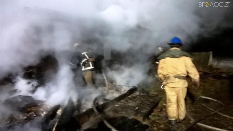 На півночі області під час пожежі знайшли тіло чоловіка