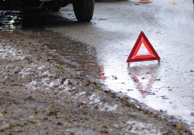 Через негоду під Житомиром – ДТП: зіштовхнулись легковик та мікроавтобус