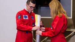 У Житомирському музеї космонавтики залишили «Повідомлення в майбутнє»