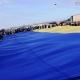 На кордоні Житомирської та Рівненської областей розгорнули 200-метровий прапор