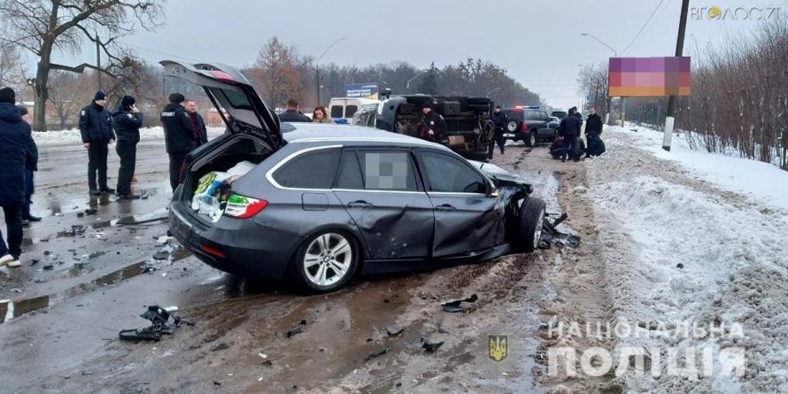 На околиці Житомира у ДТП потрапив конвой з арештованими