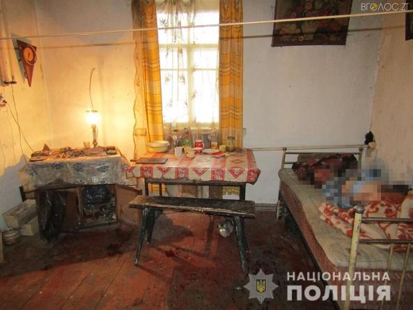 На Житомирщині чоловік до смерті побив товариша, дотягнув до дому і ліг спати