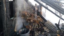 Жахлива трагедія у Баранівському районі:  у вогні загинула жінка