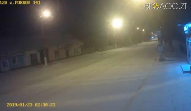 У Житомирі вандали викрали камеру із табло на зупинці