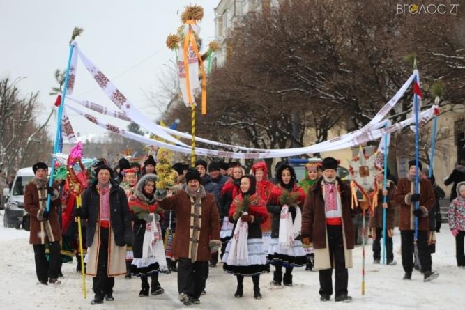 Вулицями Житомира пройшла Різдвяна хода
