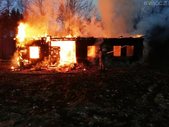 Під час пожеж за минулу добу загинули двоє жителів області