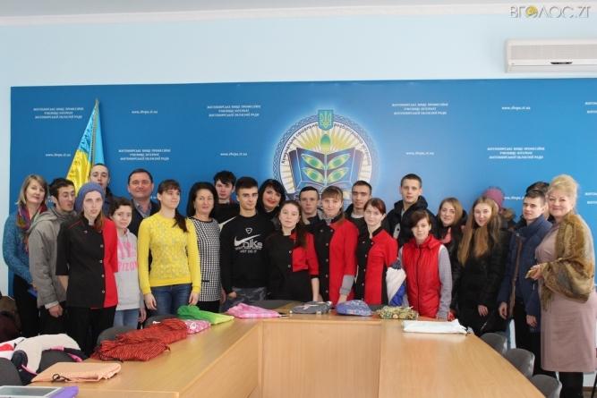 Депутати фракції «Батьківщина» відвідали училище-інтернат облради
