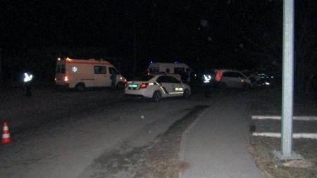 Ввечері три фури потрапили у ДТП під Житомиром (ФОТО)