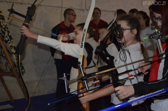 У Житомирі відбувся чемпіонат зі стрільби з лука