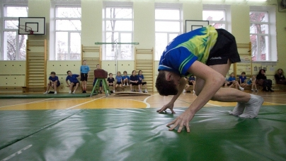 Уроки фізкультури в ліцеї №25 проходять у напівпідвальному приміщенні