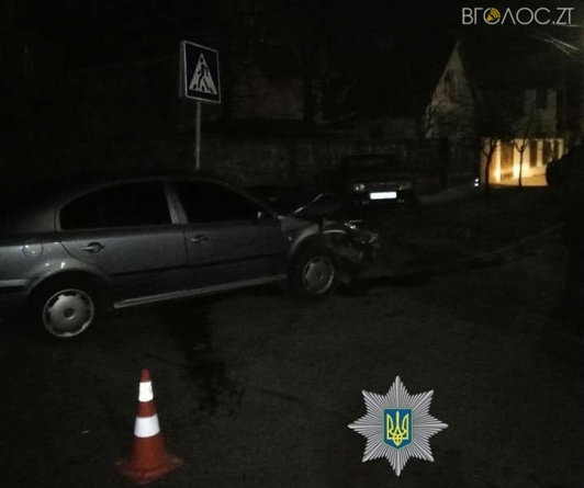 У Житомирі через зіткнення автівок загинув пішохід