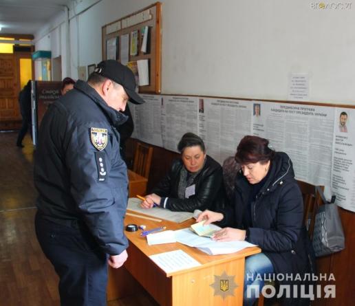 Виборчі дільниці у всіх районах області вчасно розпочали свою роботу, – поліція