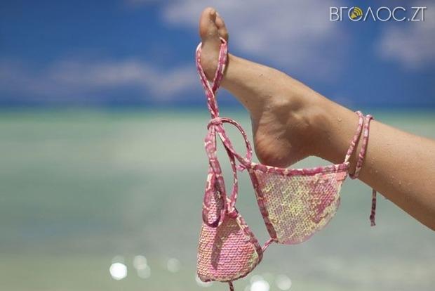 Житомирянин збирає підписи, щоб мерія облаштувала пляж для нудистів