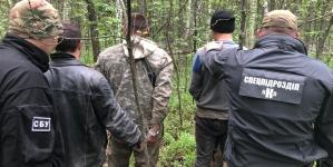На Олевщині викрили групу бурштиношукачів, які мали «дах» серед правоохоронців
