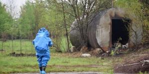 В Олевську горіла бочка з небезпечними отрутохімікатами