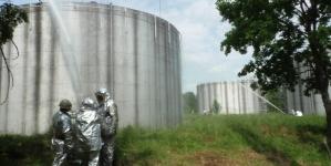 Рятувальники області ліквідовували наслідки вибуху на нафтобазі