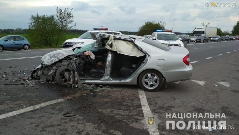 Через подвійну ДТП у Житомирському районі двоє людей загинули, а п'ятеро травмовані
