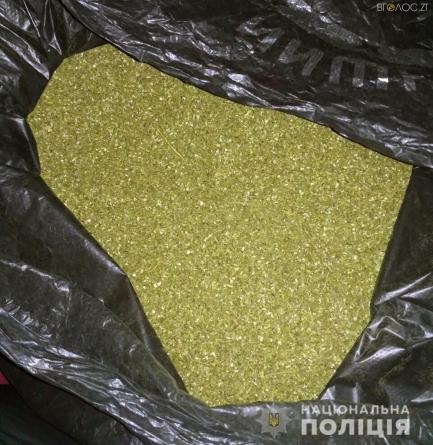 З будинку жителя Коростишева поліція вилучила понад 3 кг наркотиків