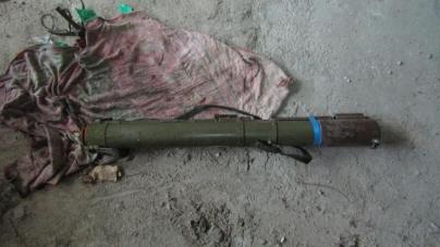 У житомирській недобудові знайшли протитанковий гранатомет